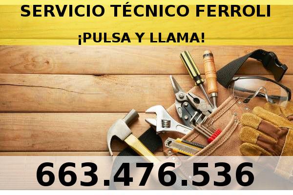 Servicio t cnico ferroli tel servicio 24 for Servicio tecnico calderas valencia